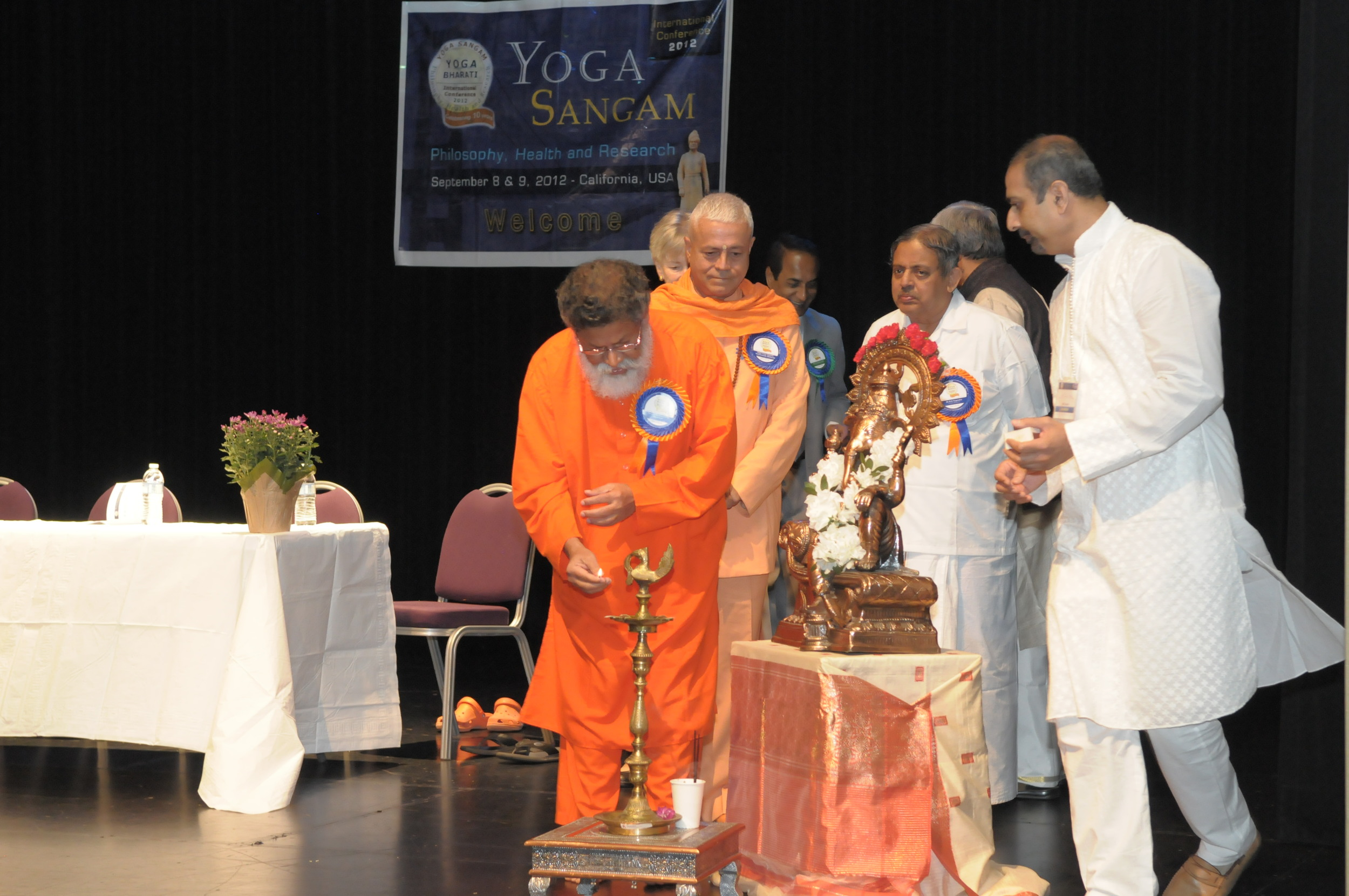 Our 2012 International Conference - Yoga Sangam