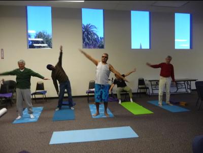Yoga for Visually Challenged