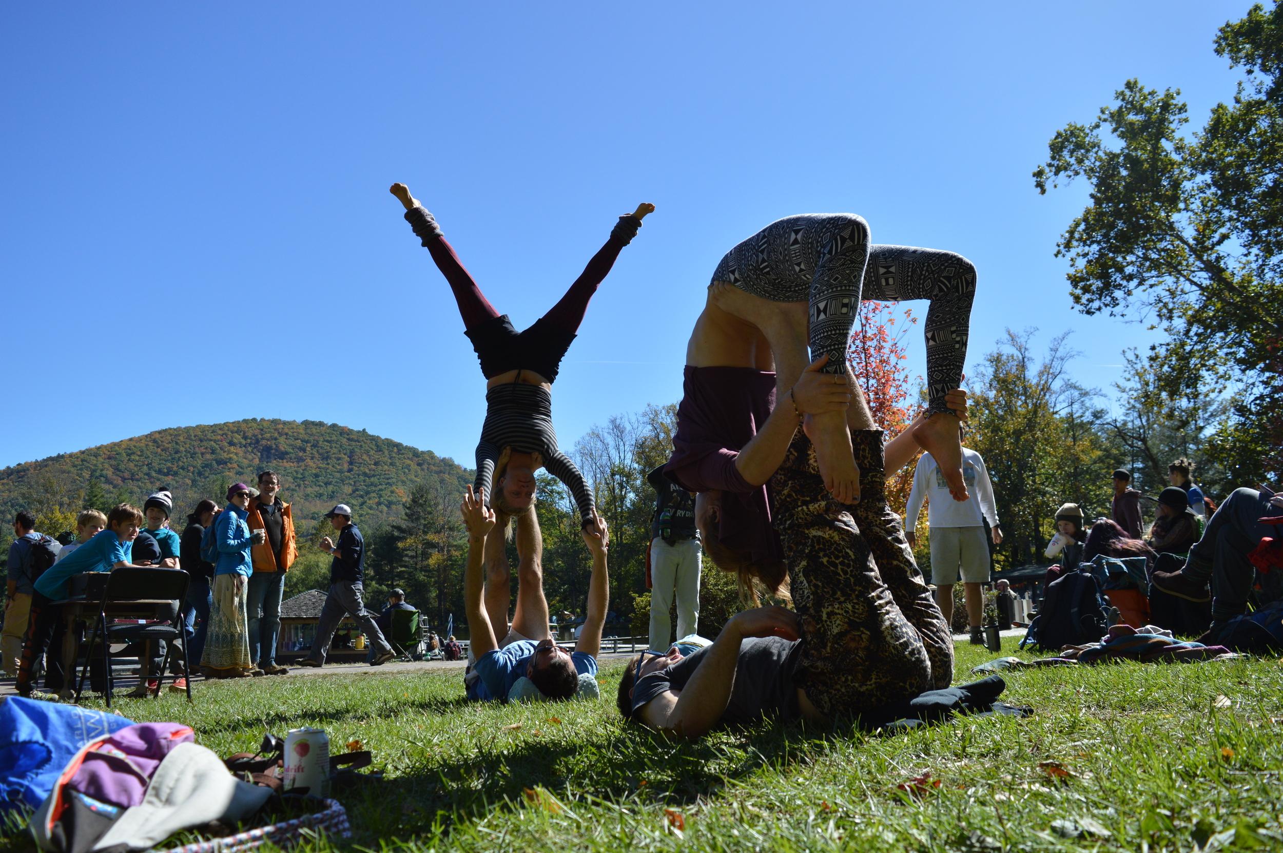 More acro yoga love