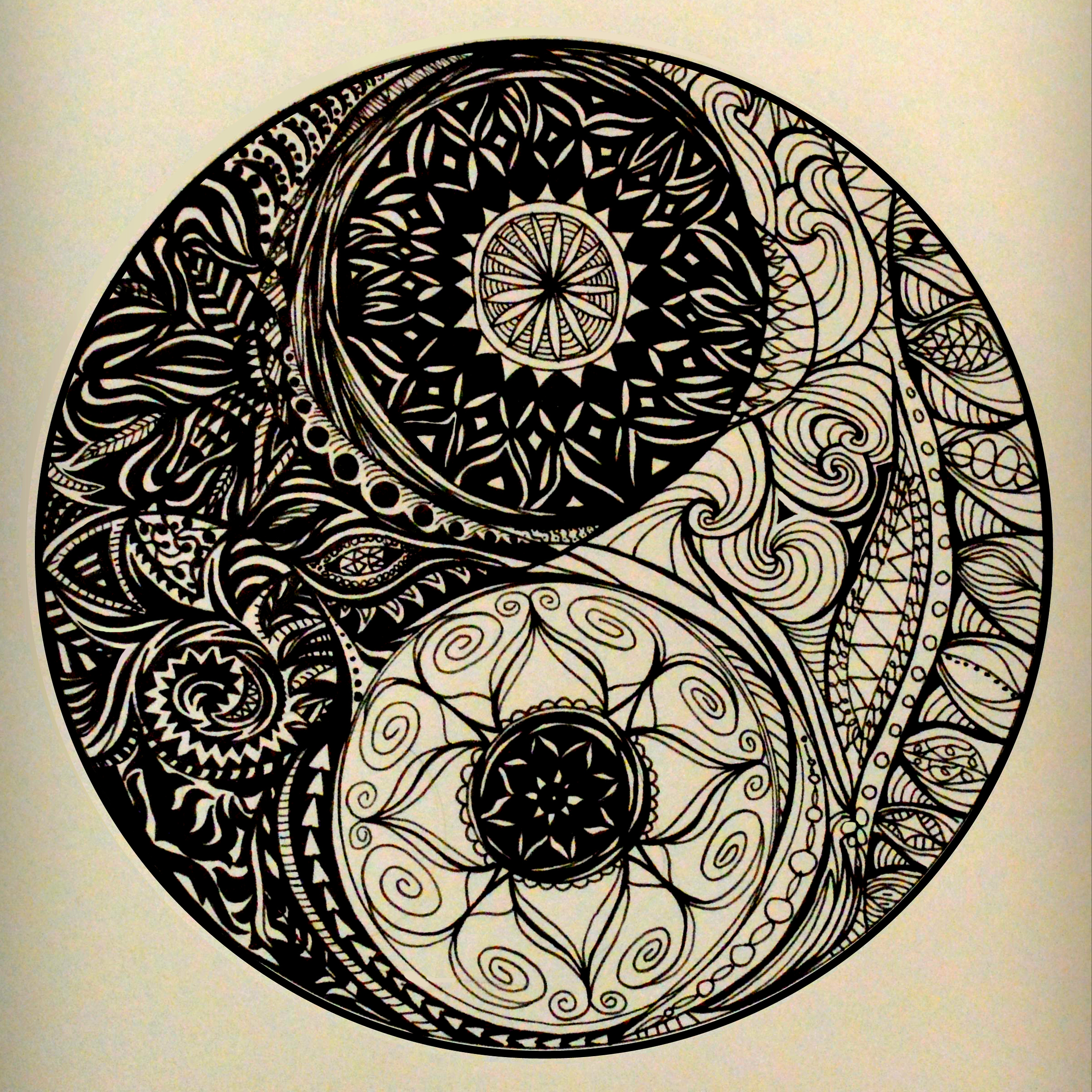 yin and yang design - finding balance in life