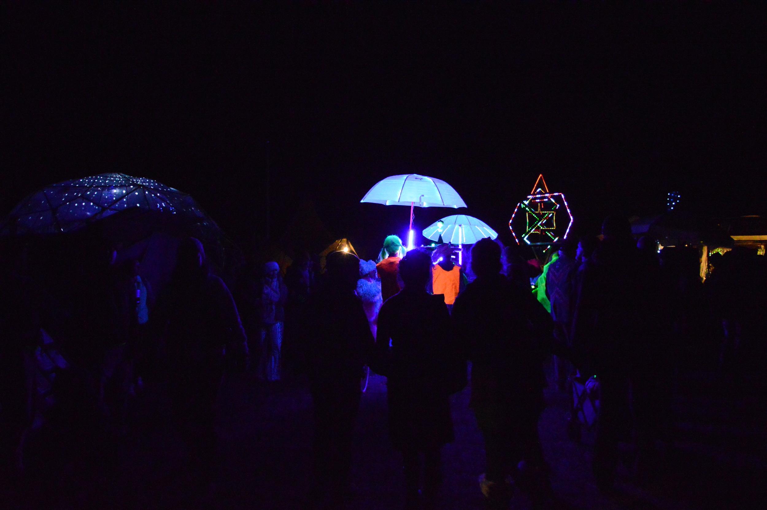 Crazy Neon parade