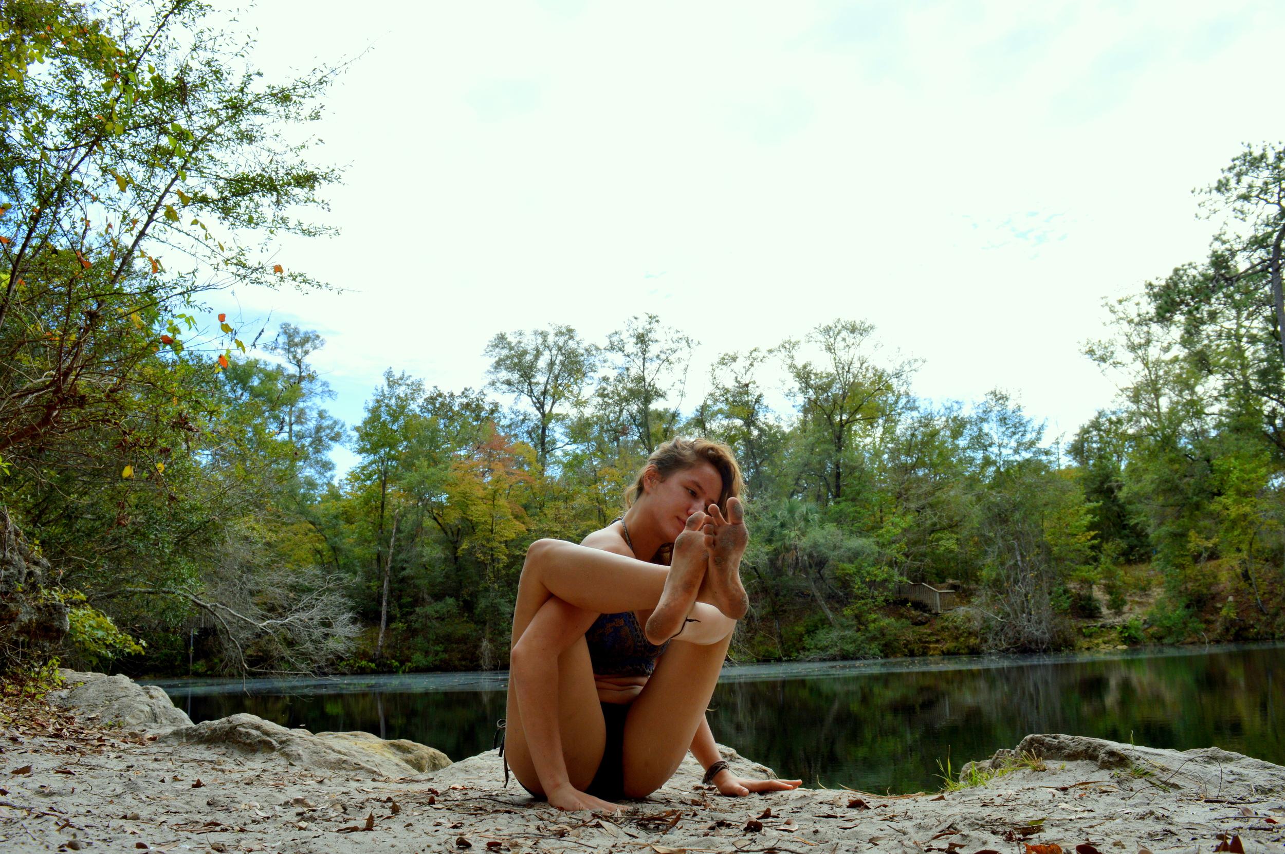 Yoga at Cherokee Sink