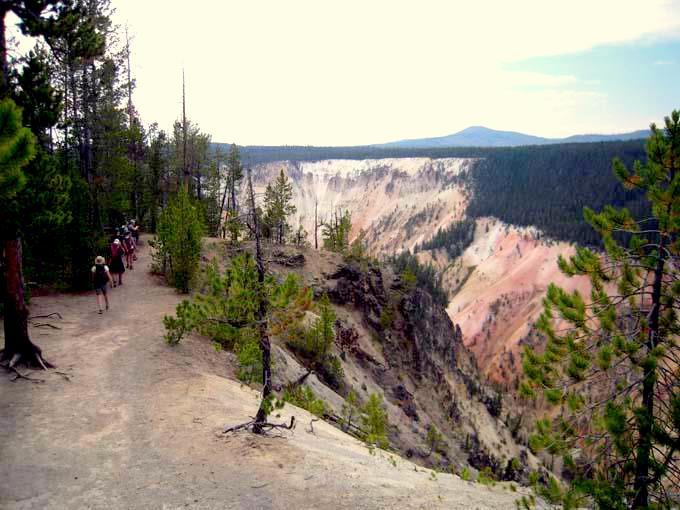 Grand Canyon of Yellowstone Hike