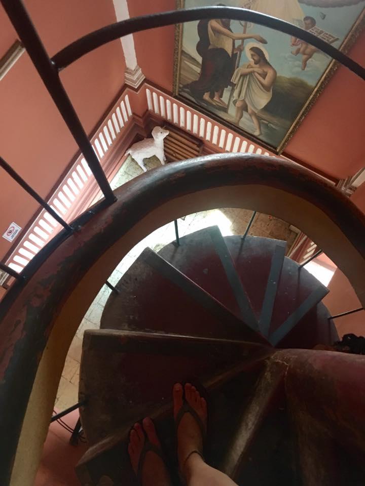 bell tower of la Iglesia de la Merced, Granada, Nicaragua