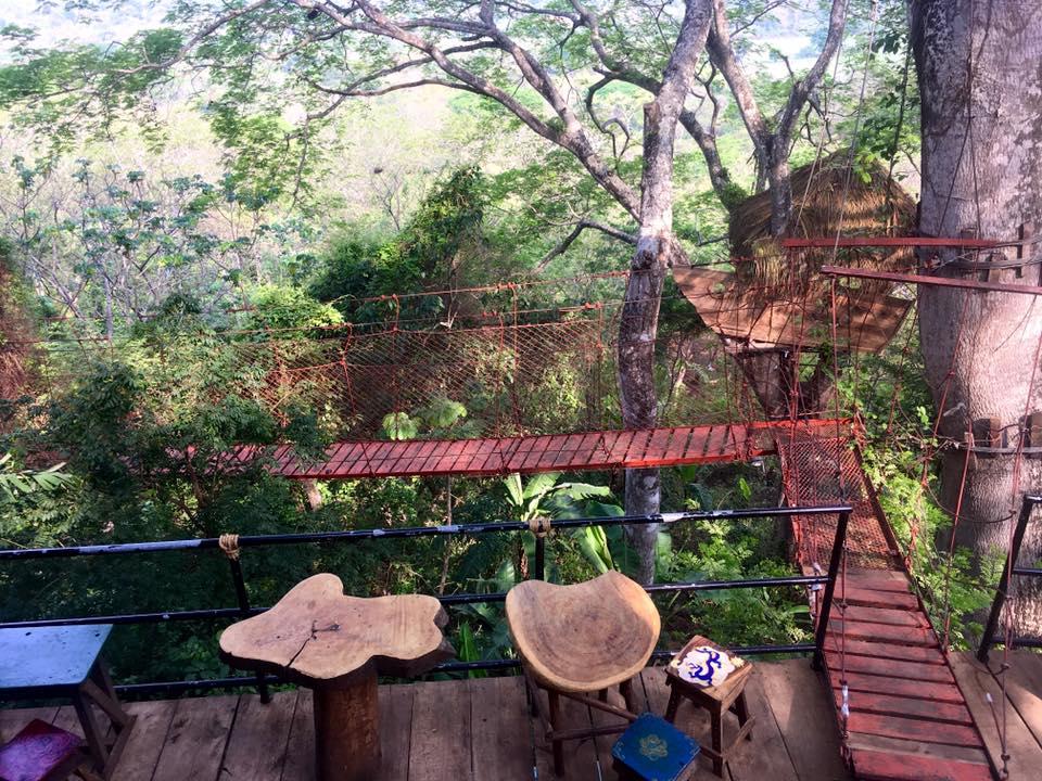 Treehouse Nicaragua, Mambacho Volcano, Granada, Nicaragua