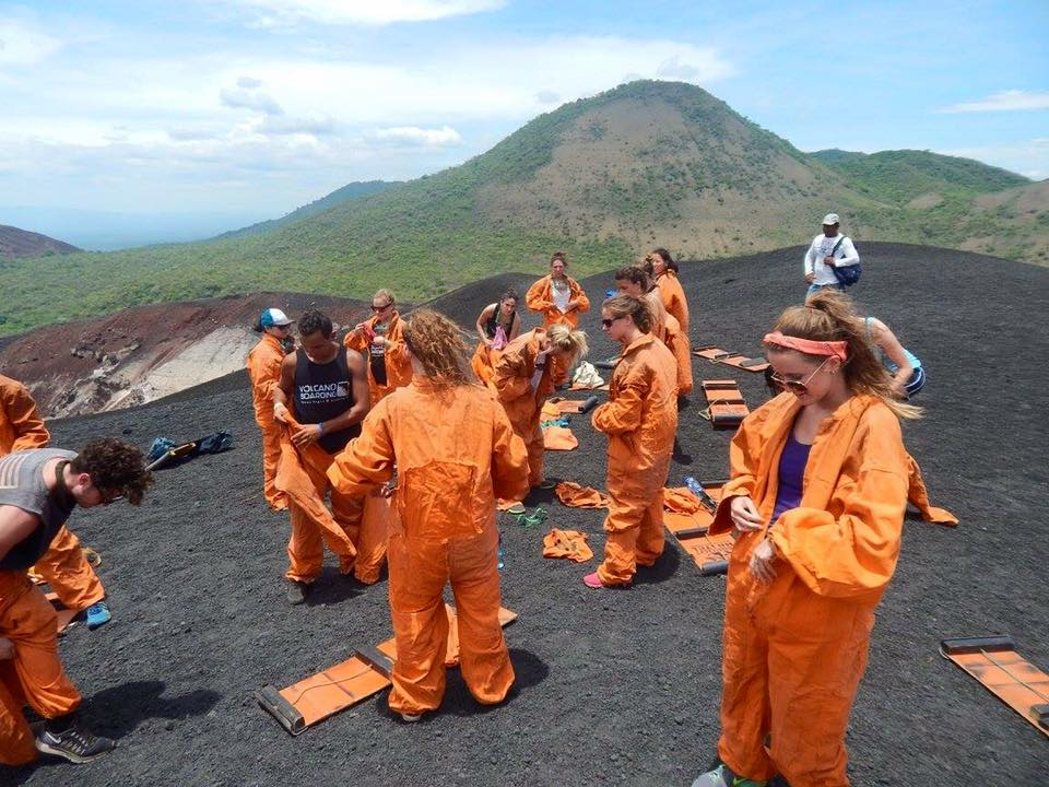 Volcano Boarding Jumpsuits