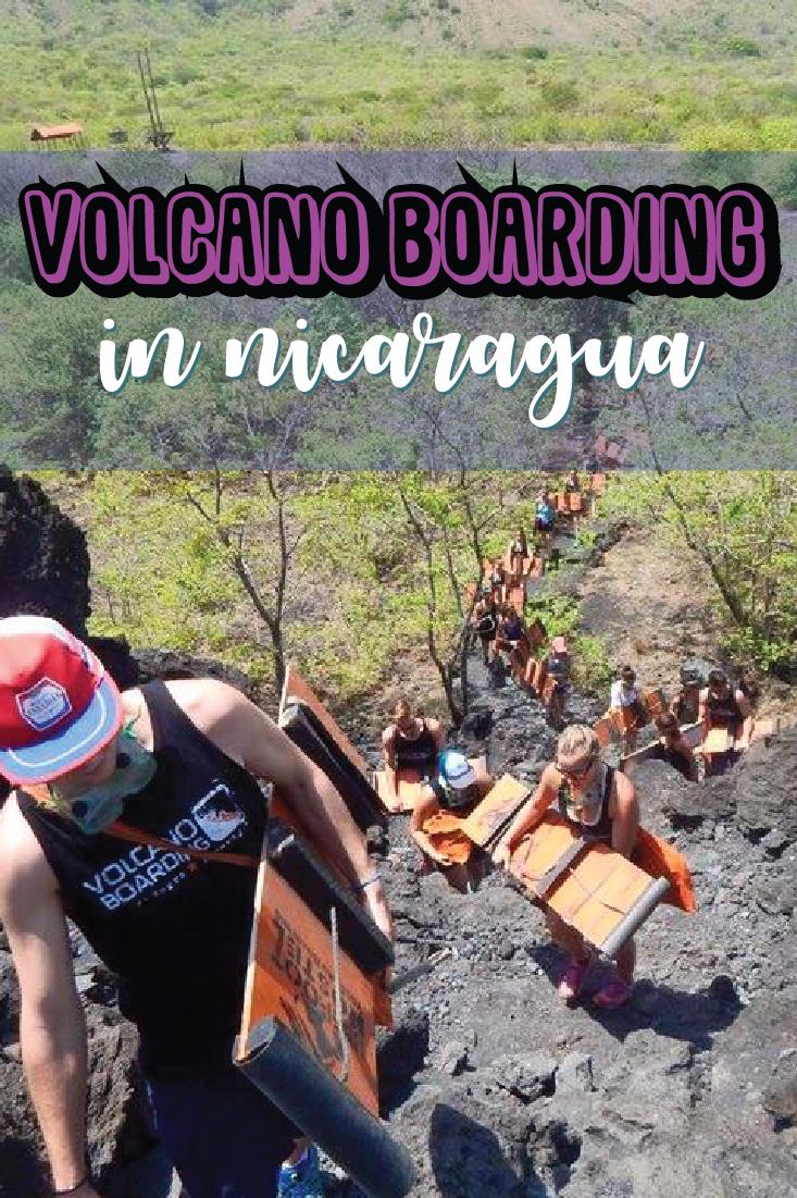 Volcano Boarding in Nicaragua is Actually Insane! EarthChildErin.com