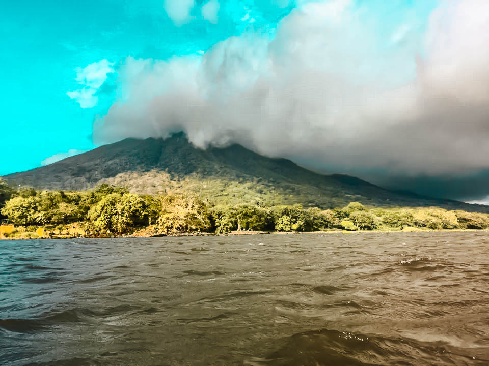 kayak, Ometepe Island, Nicaragua