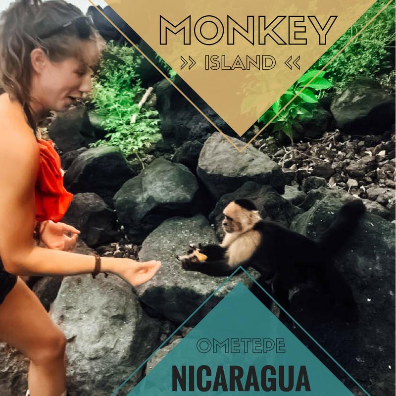 Monkey Island, Ometepe, Nicaragua