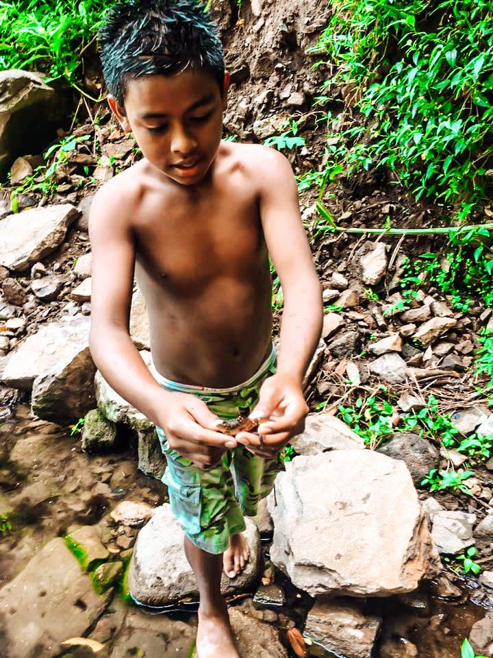 San Ramon Waterfall, Ometepe local, Nicaragua