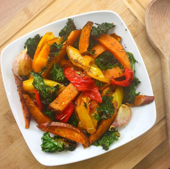 The Strength Temple Vegetable Roast Up!