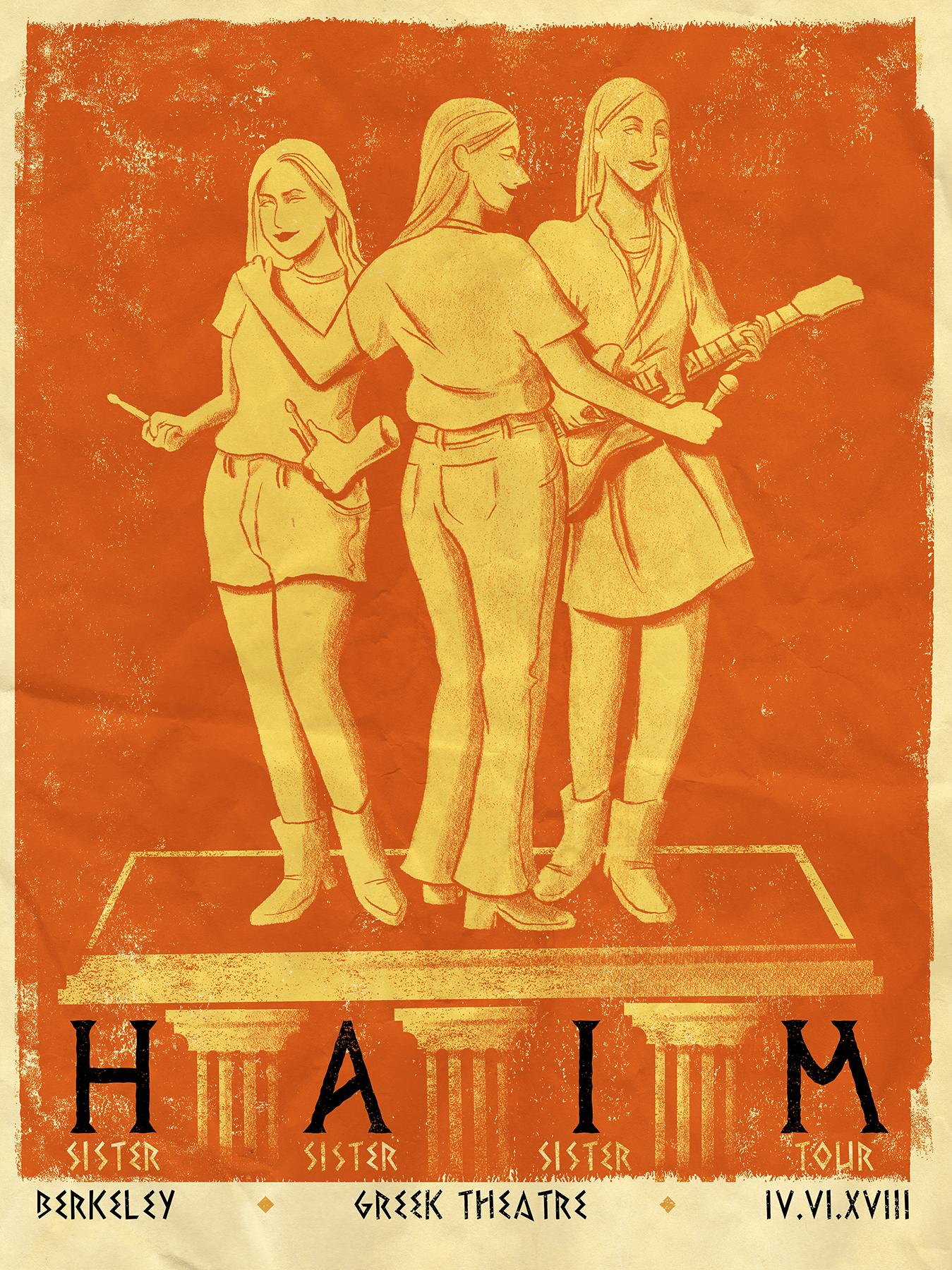 HAIM poster idea