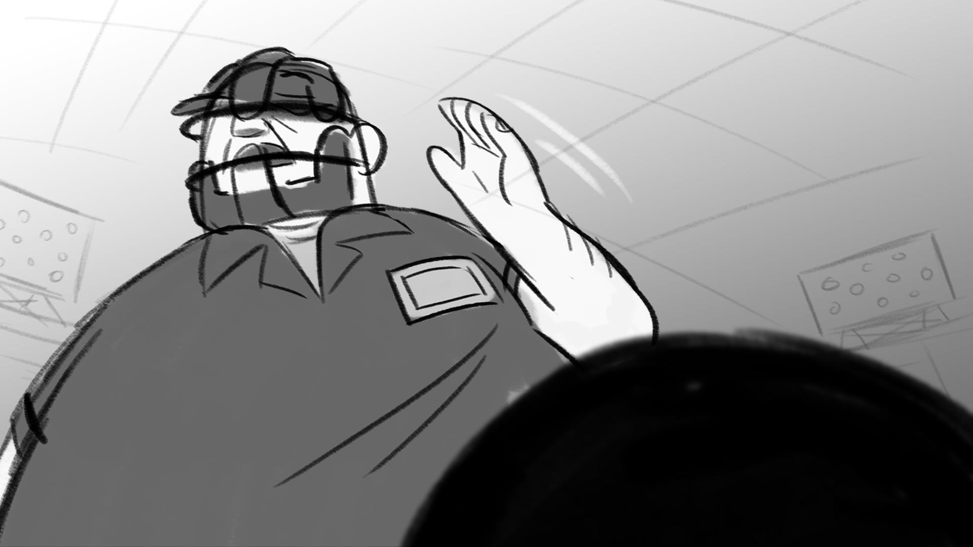 """Ball Four! Take yer base."""