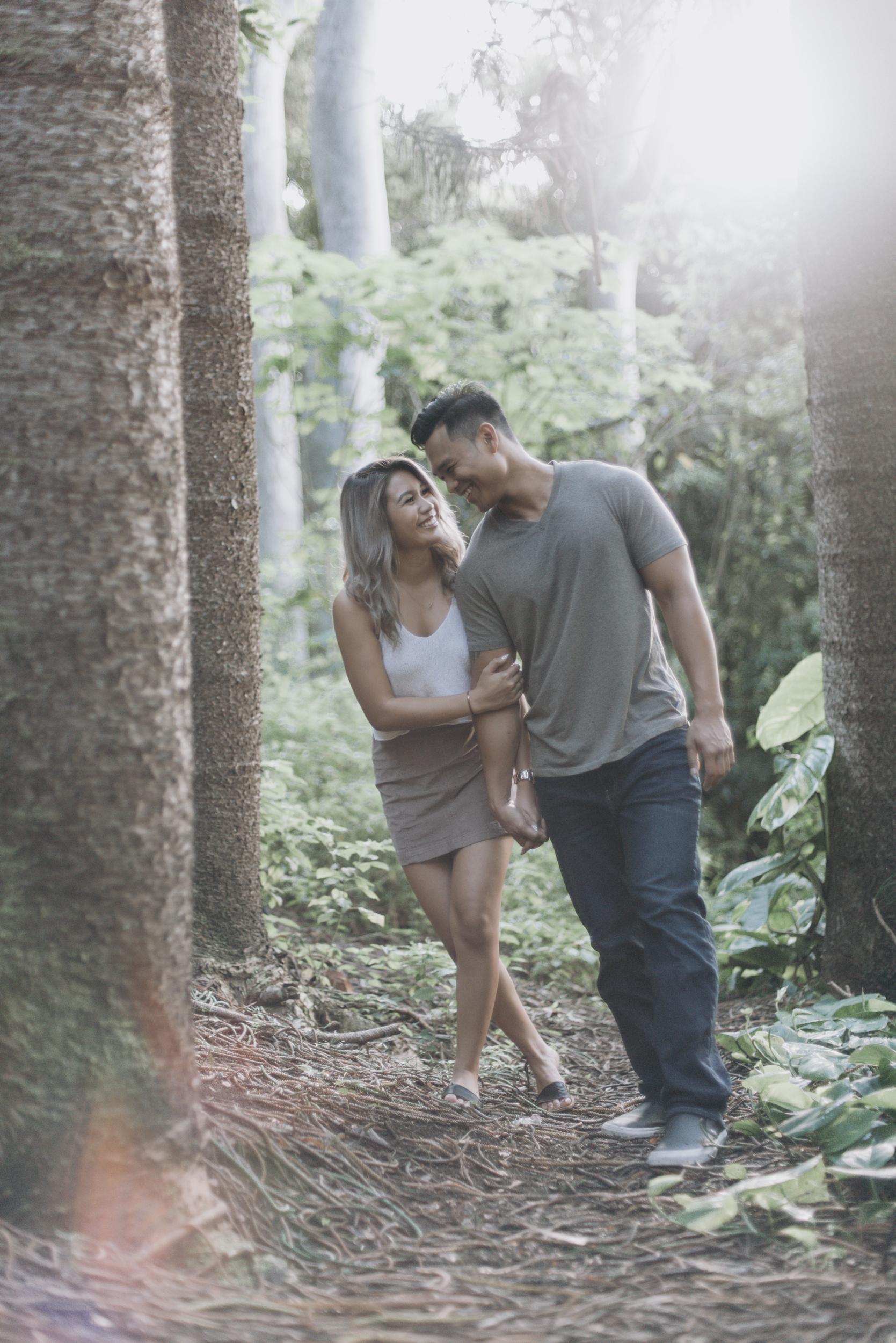 Tantalus Engagement | Oahu Lifestyle Photographer