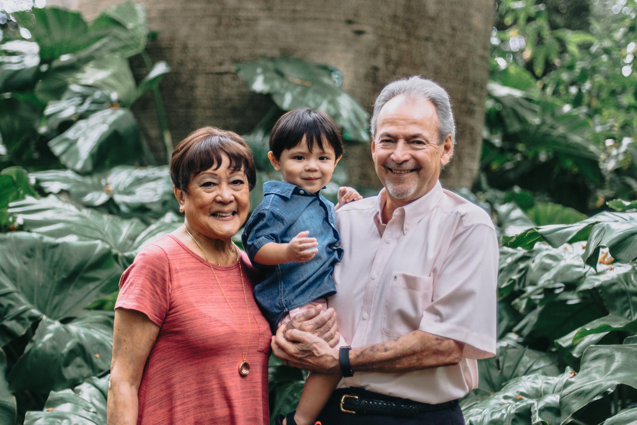 coen + family | botanical garden | oahu lifestyle photographer