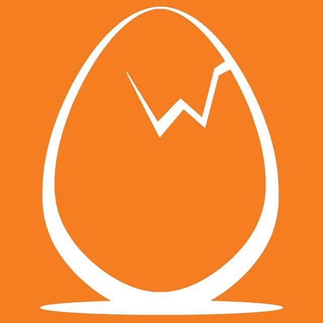 Logo design  #logo #branding #graphicdesign #egg #breakfast #cafe #restaurant #wicked #art #graphics #illustrator #vector #orange #morning #crack #eggs