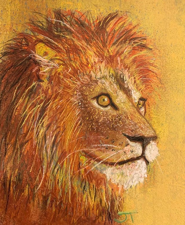A week until @lionking comes out! My favorite childhood movie comes to life...sorta  #lionking #illustration #drawing #charcoal #pastel #color #lion #animals #disney #thelionking #simba #mufasa #art #africa @childishgambino