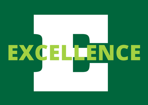 Seek Excellence. Pursue mastery across the curriculum and in every school activity. Come to school ready to give your very best! -