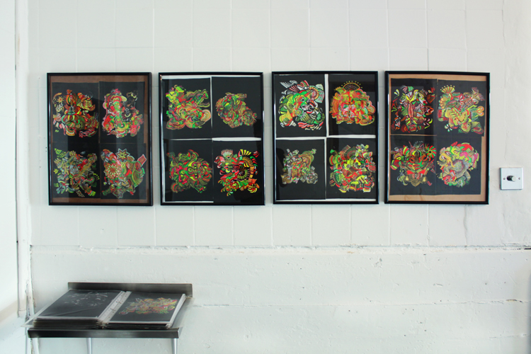 paintings Kings Cross exhibition art