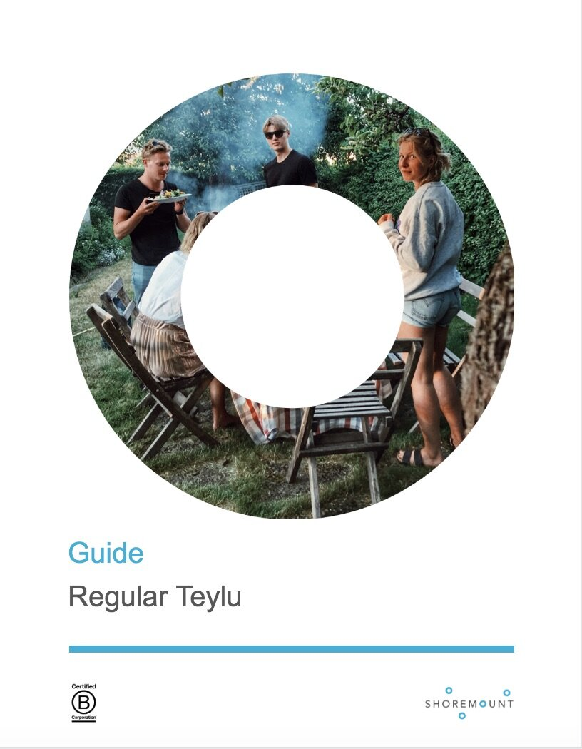 Regular Teylu - Guide - Complete guide to every other meeting.Wraps powerful dialogue around your Topic.