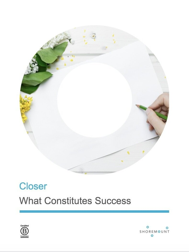 Redefining Success - Poem by Bessie Stanley on what really matters about being successful.