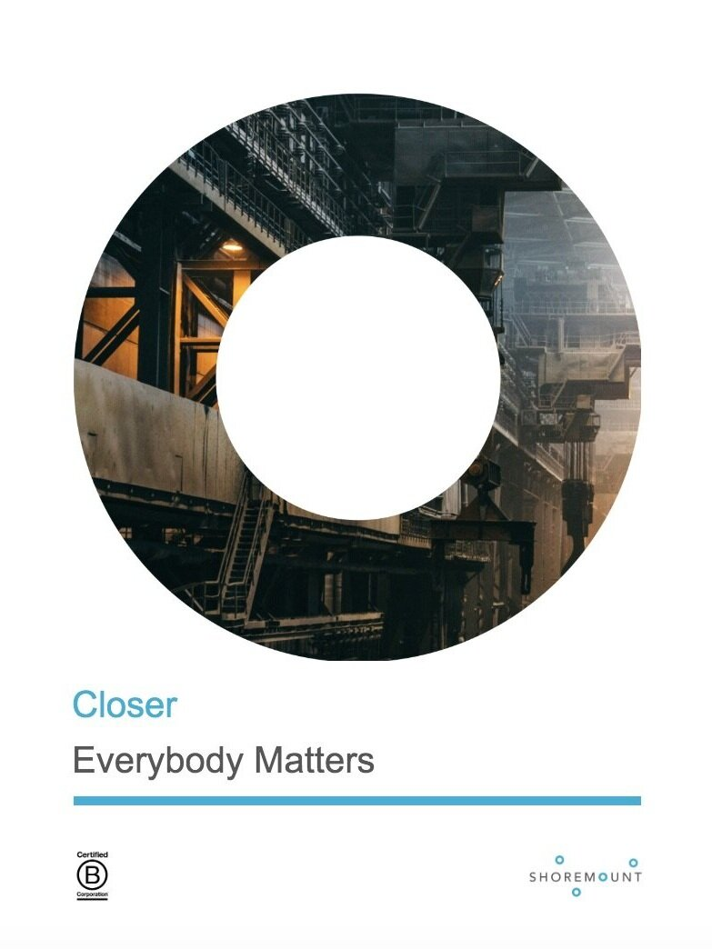 """Everybody Matters - Excerpt from B Chapman's book """"Everybody Matters""""."""