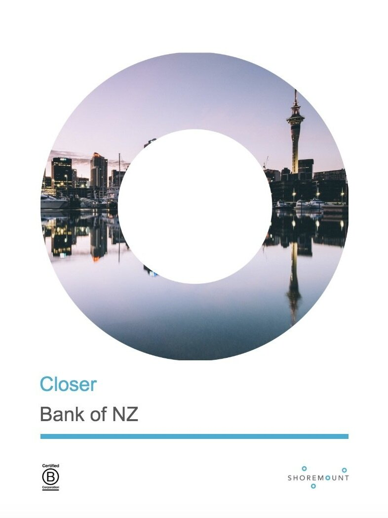 """Bank of NZ - Story of employee initiative from G Hamel's """"What Matters Now""""."""