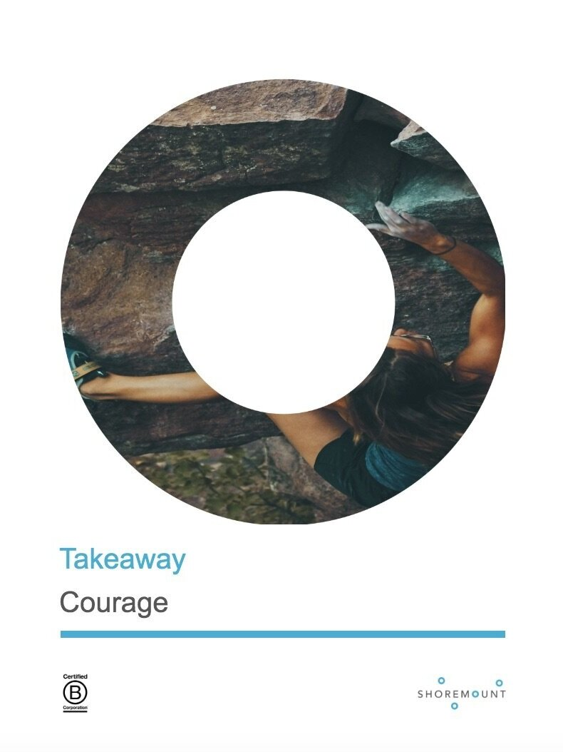 Courage - Quotes on courage for people to contemplate and, potentially, act on.