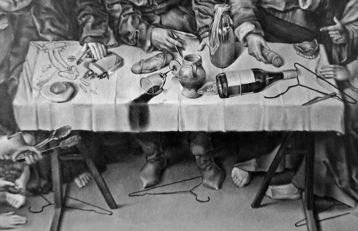 The Last Supper, Detail 2