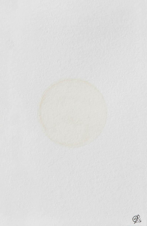Helene Lundbye Petersen,   Genuine Beginning,   2016, Work on Paper, Watercolour, paper, 10.5 × 14.8 cm. ( Genuine Colour Studies 1/11)