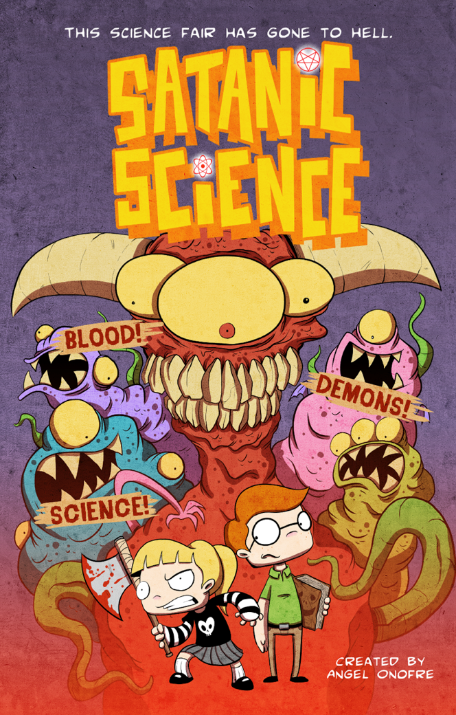 Cover for Satanic Science