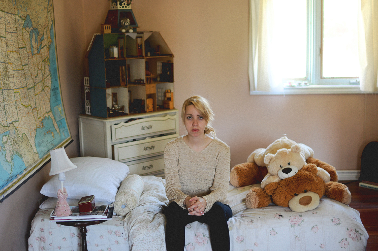 Childhood Bedroom, Age 17,  Erin, Ontario, Canada