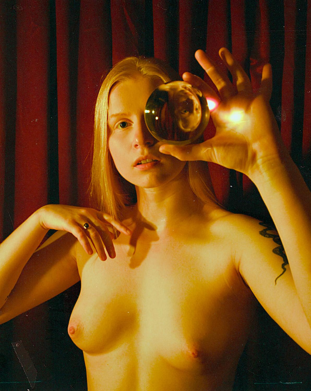 lisa and her crystal ball.jpg