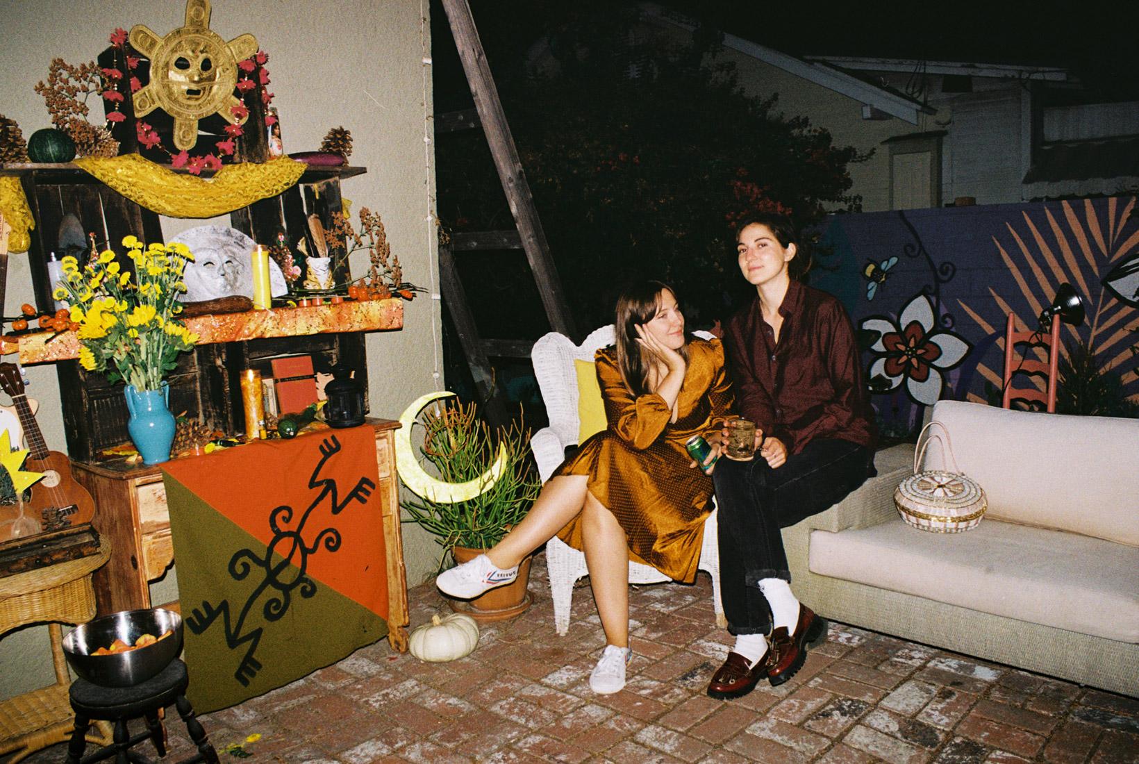 Mimi and V at Jarina's Solstice gathering