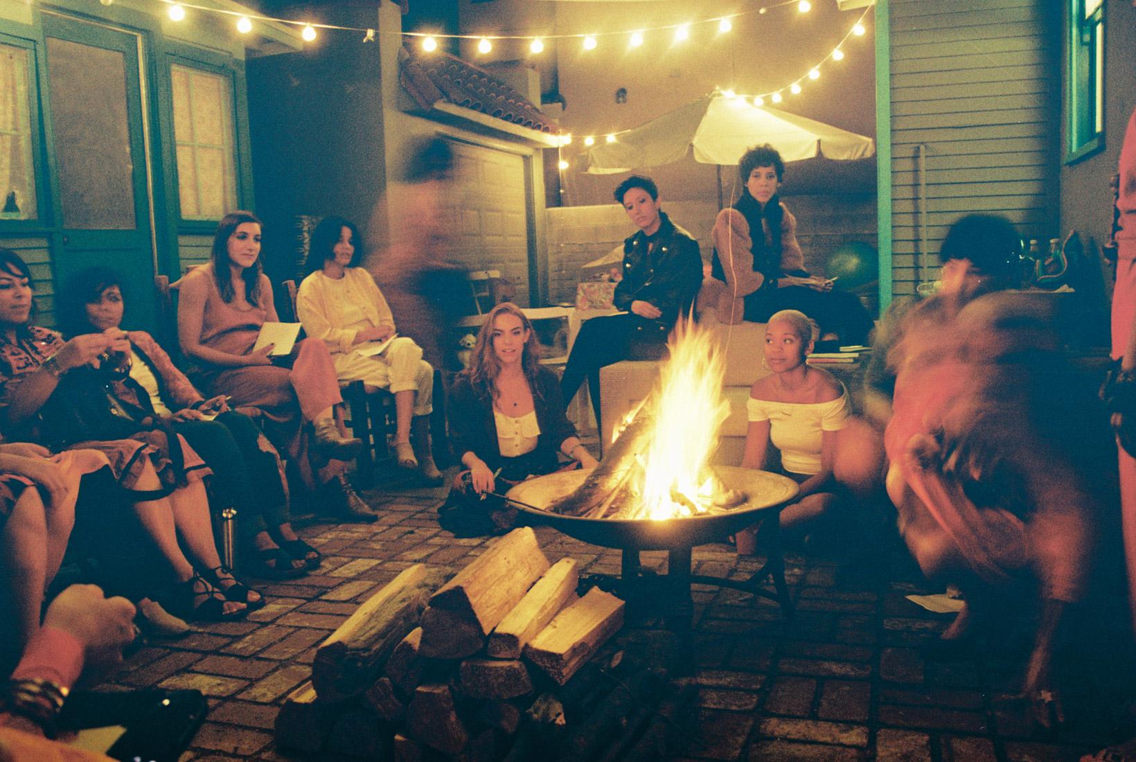Jarina's backyard and company