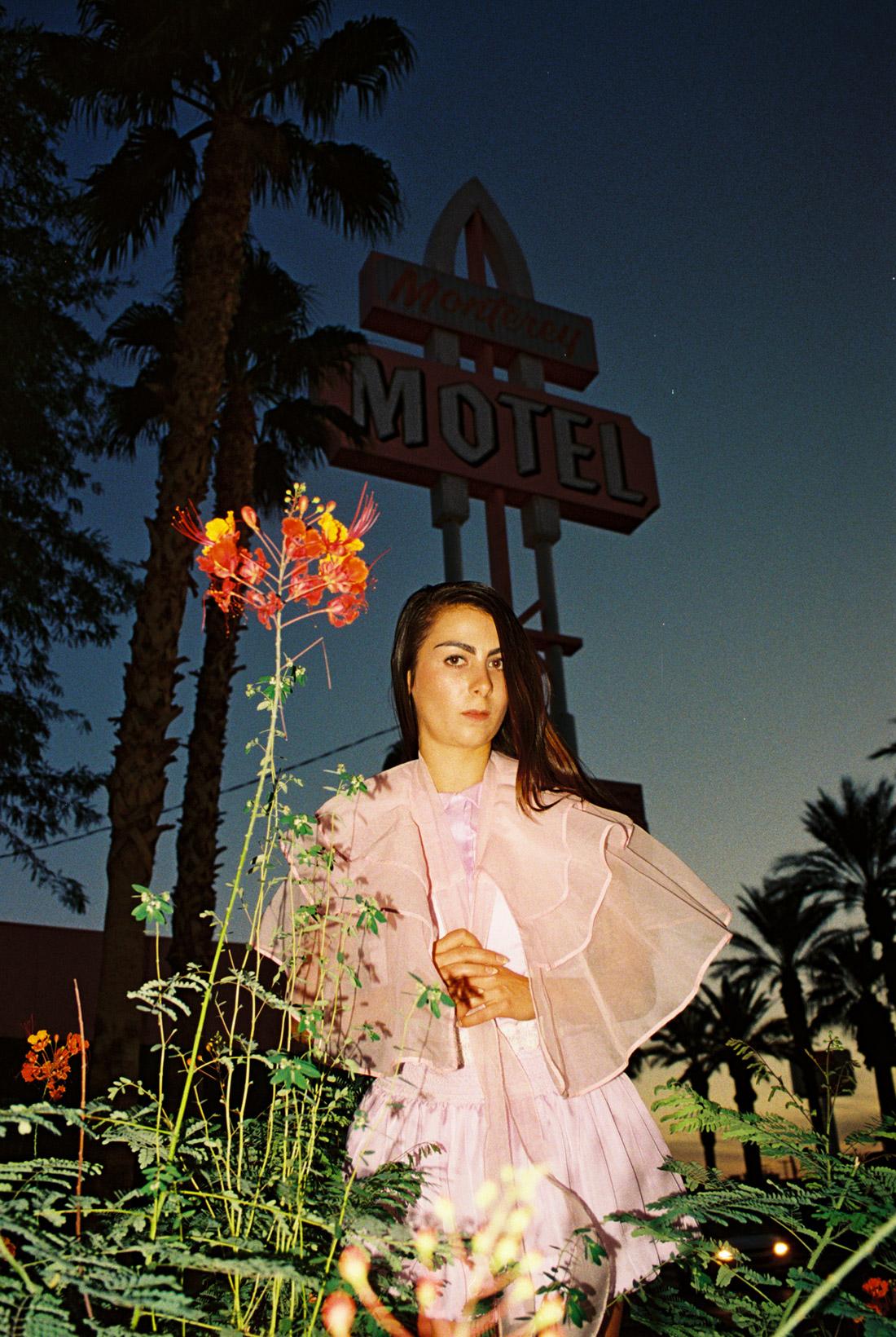 Cara at the Monterery Motel