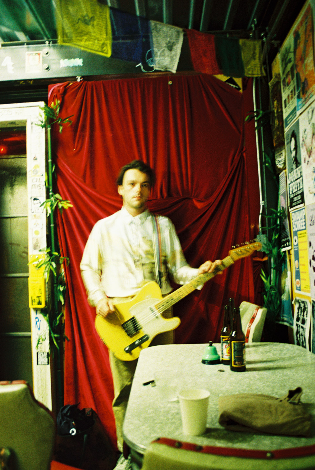Garrett backstage at Bootleg