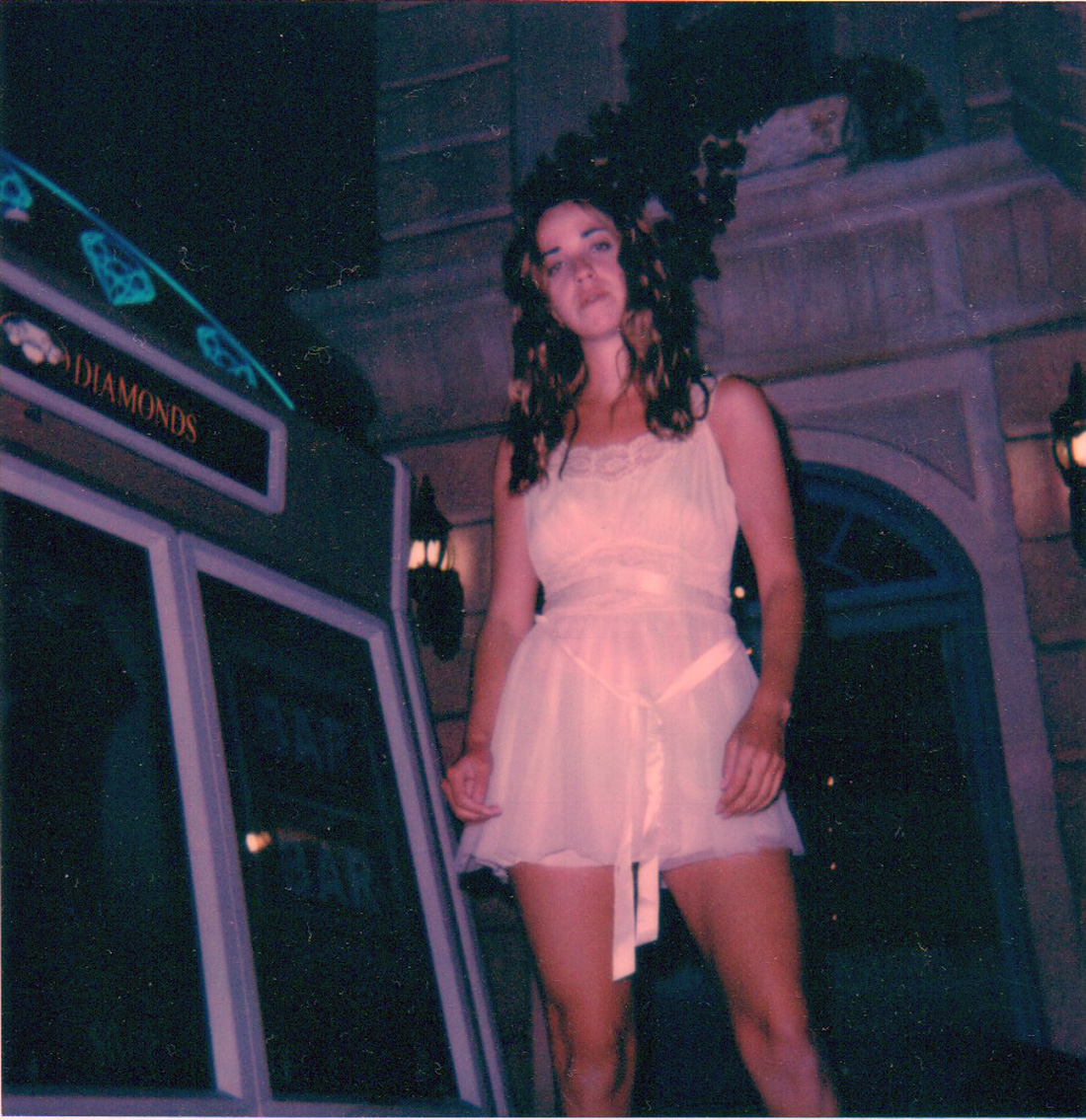 Polaroid of me in Paris