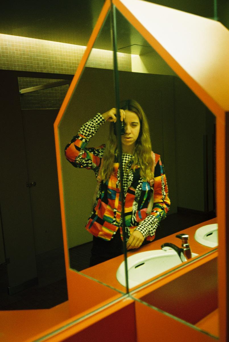 Royal Ontario Museum bathroom self portrait