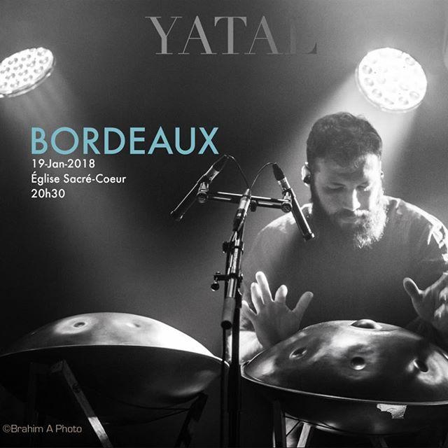 Pour la première fois, YATAL sera à BORDEAUX ! Il reste encore des places. Réservez vos billets sur : 🎟️ https://www.weezevent.com/concert-yatal-bordeaux