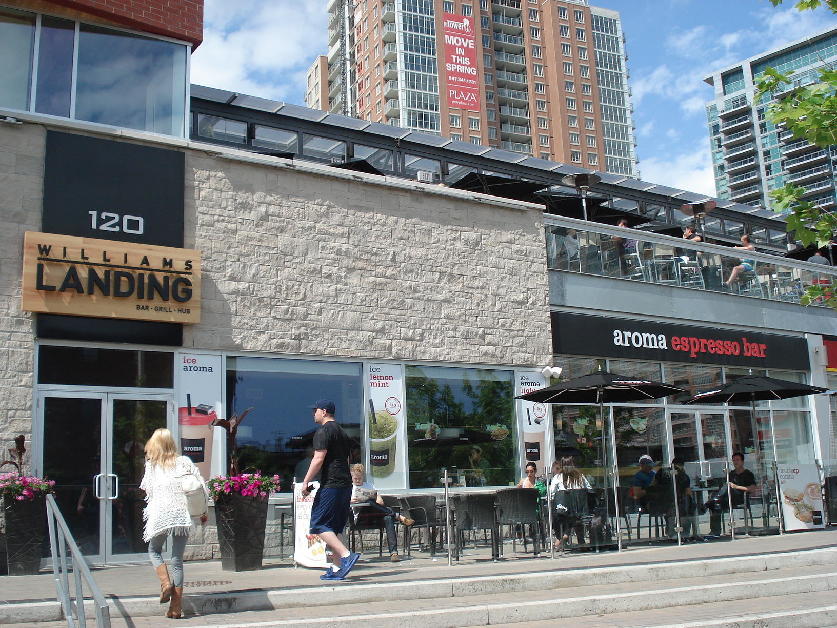 Picture of exterior of restaurant ground level