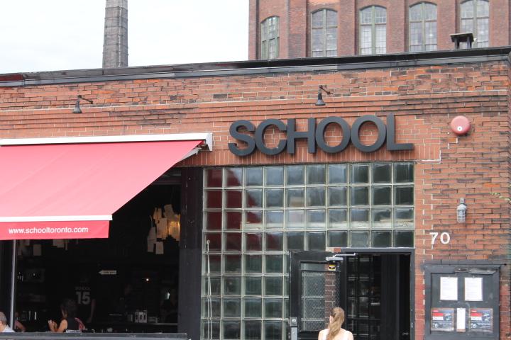 Picture of SCHOOL restaurant signage