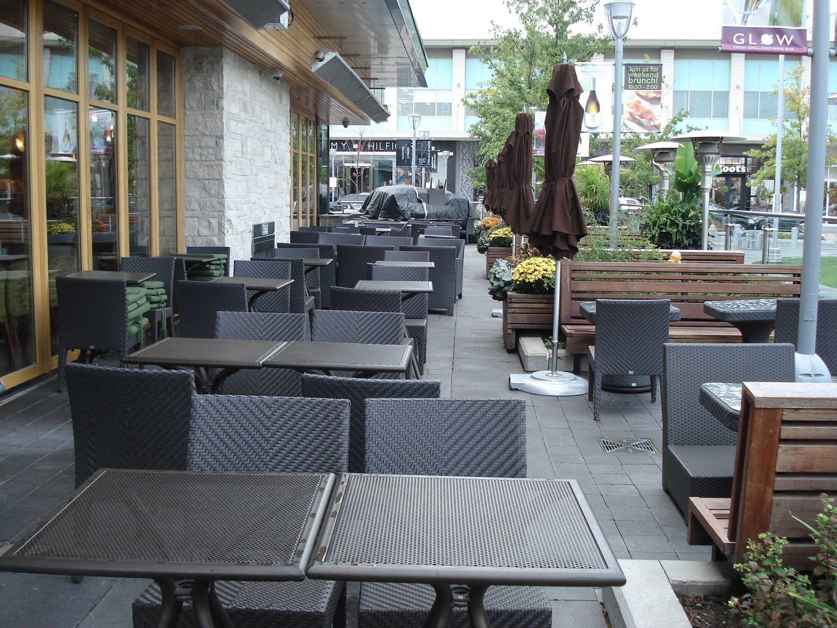 Picture of accessible patio.