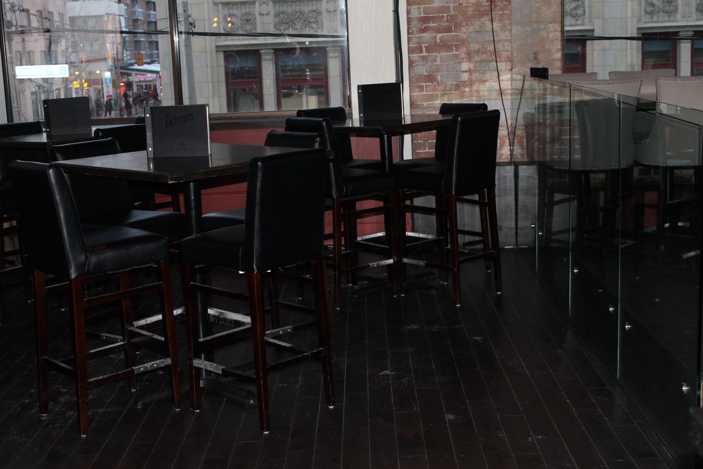 Picture of interior of accessible restaurant.