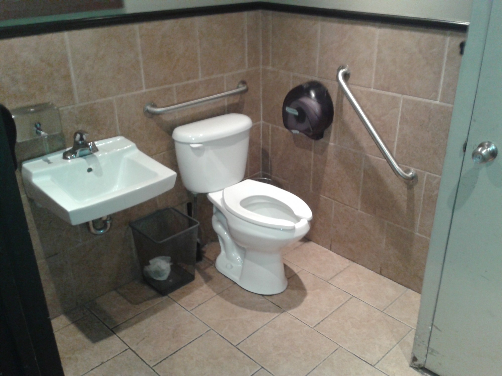 Picture of accessible washroom in Jason George.