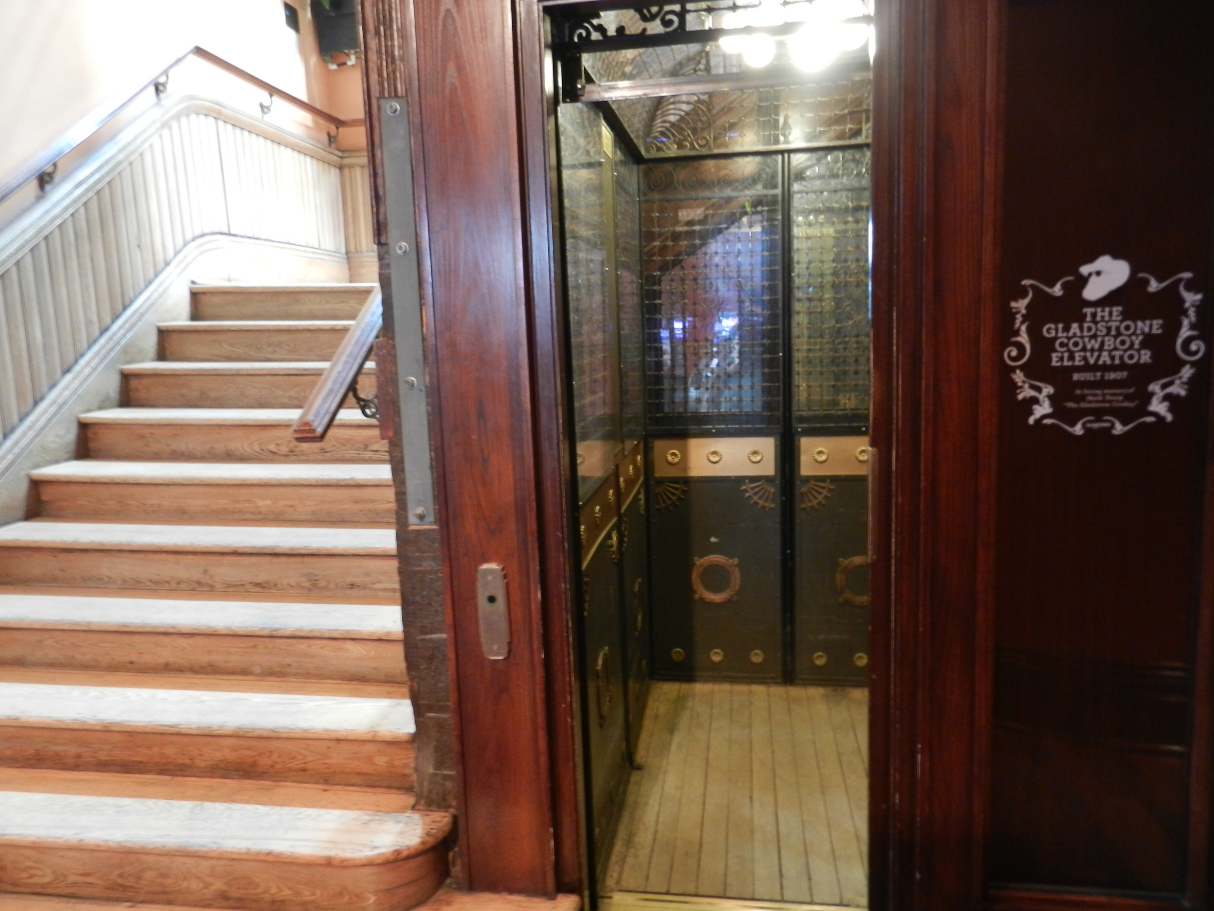 Picture of accessible elevator.
