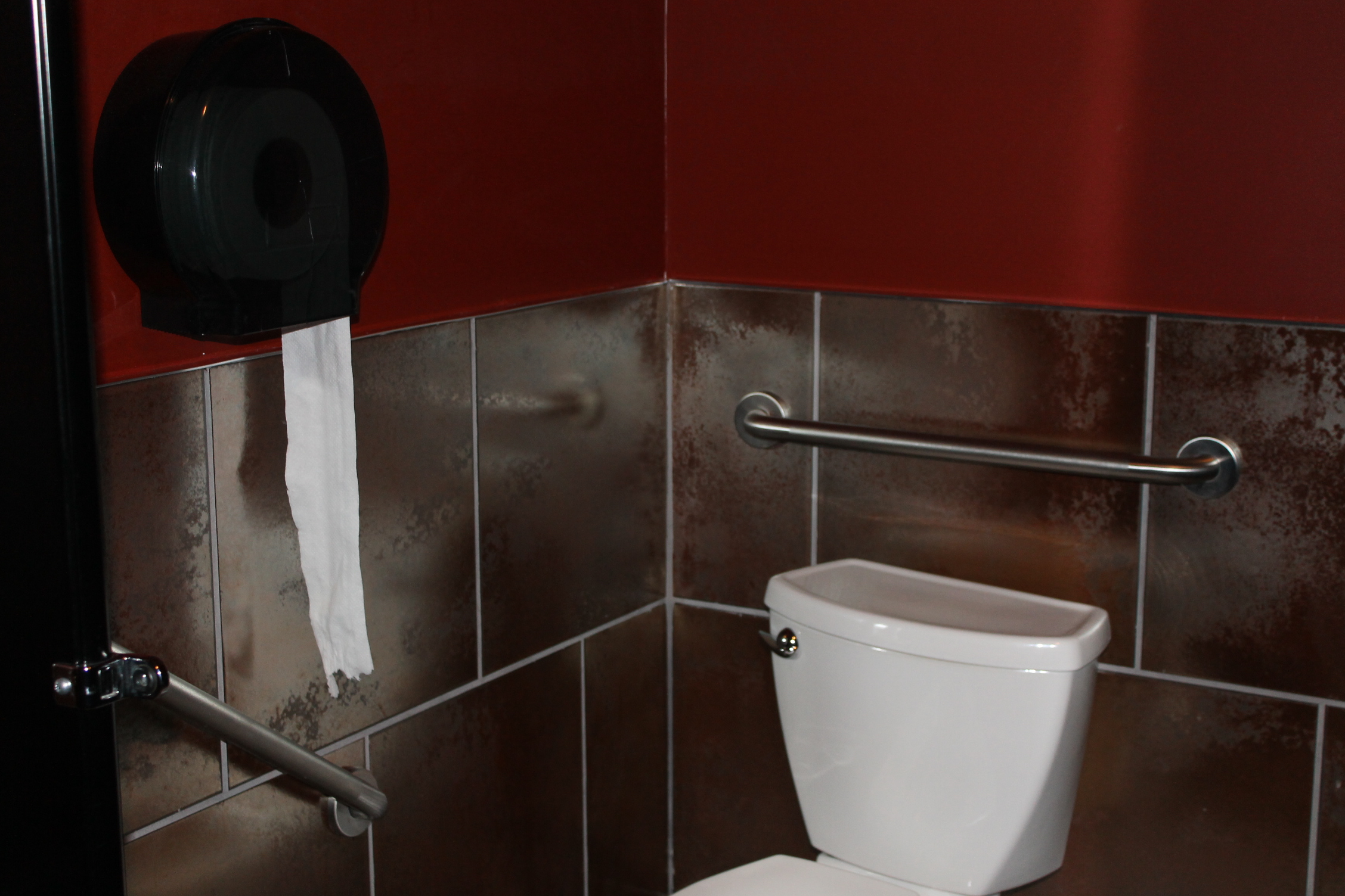 Picture of the accessible washroom.