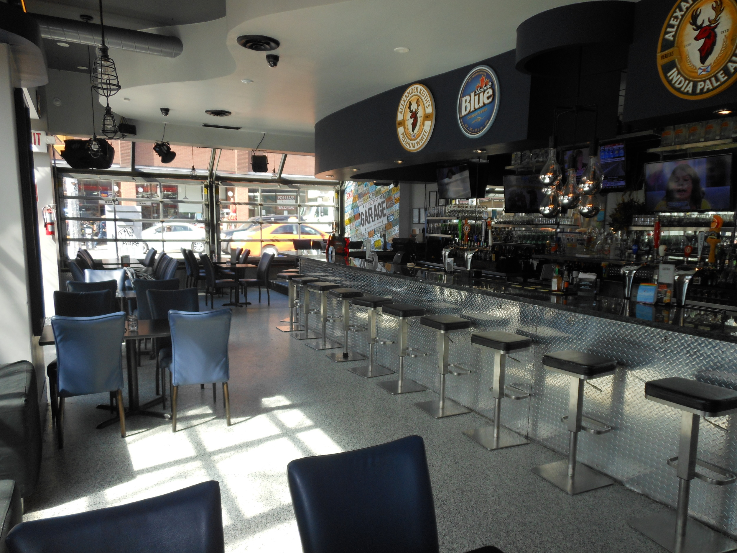 Picture of accessible, indoor seating area.