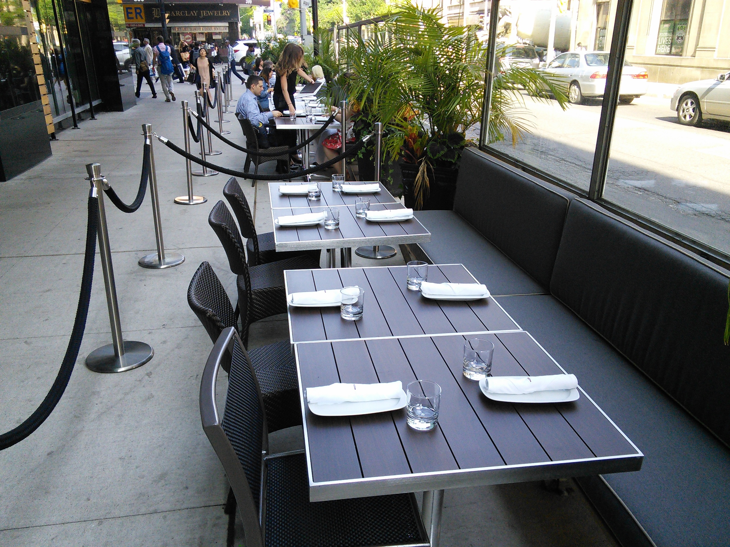 Image of the accessible outdoor patio area.