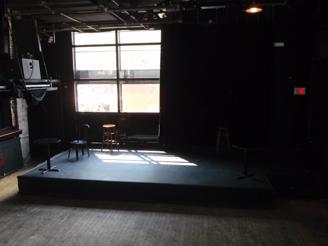 Picture of accessible stage.